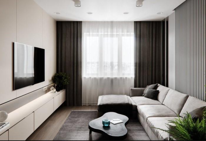 Чтобы не захламлять квартиру, важно продумать вместительную систему хранения / Фото: remontbp.com