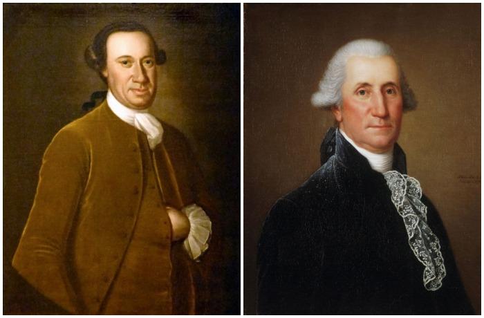Фактически первым президентом США был Джон Хэнсон, а первым конституционным - Джордж Вашингтон