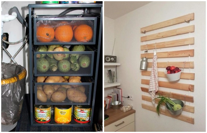 Используйте бюджетные находки из ИКЕА как органайзеры для кухни
