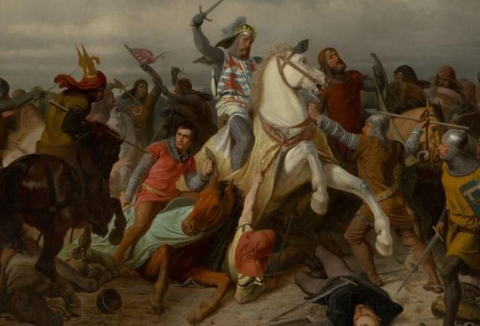 Король Богемии Иоанн решительно настроился принимать участие в битве при Креси 1346 года / Фото: tisamsebegid.ru