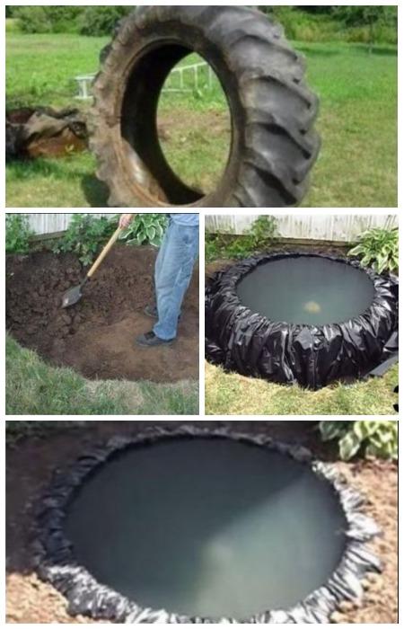 Как сделать пруд своими руками
