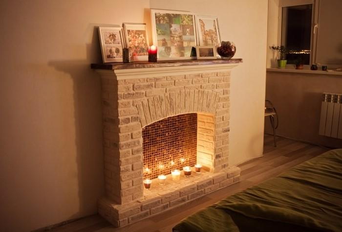 Камин поможет создать уютную атмосферу / Фото: pech-kamin.ru