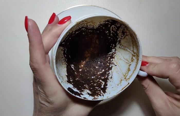 На кофейной гуще можно не только гадать / Фото: i.ytimg.com