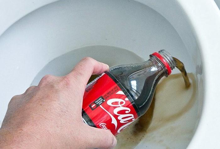 Очищение сантехники и унитаза лучше доверить бытовой химии / Фото: poradum.com.ua