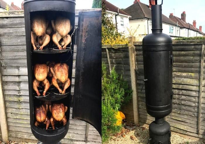 Предварительно прокалите готовую конструкцию на огне, а затем приступайте к приготовлению блюд / Фото: fazenda.site