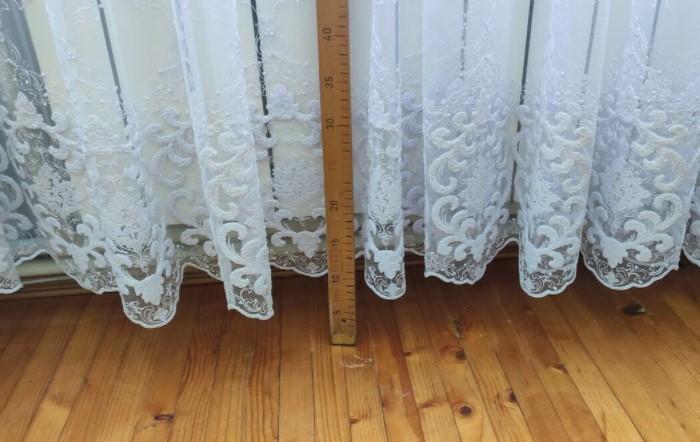 Если приобрести слишком короткое изделие, сразу испортится весь интерьер / Фото: recepty-zdorovia.com