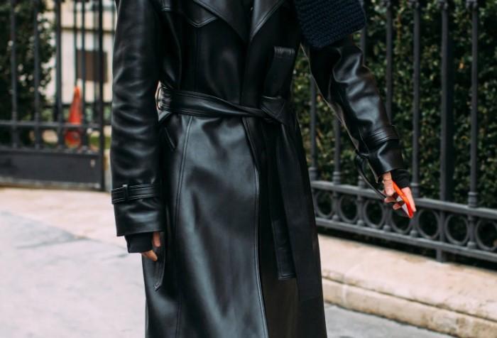 Кожаное пальто не теряет популярности во все времена / Фото: media.gq.ru