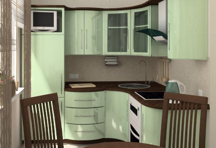 Холодильник, мойка и плита должны образовывать треугольник / Фото: domostroy121.ru