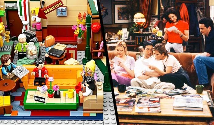 Тематическая коллекция LEGO по мотивам сериала «Друзья» / Фото: static.360tv.ru