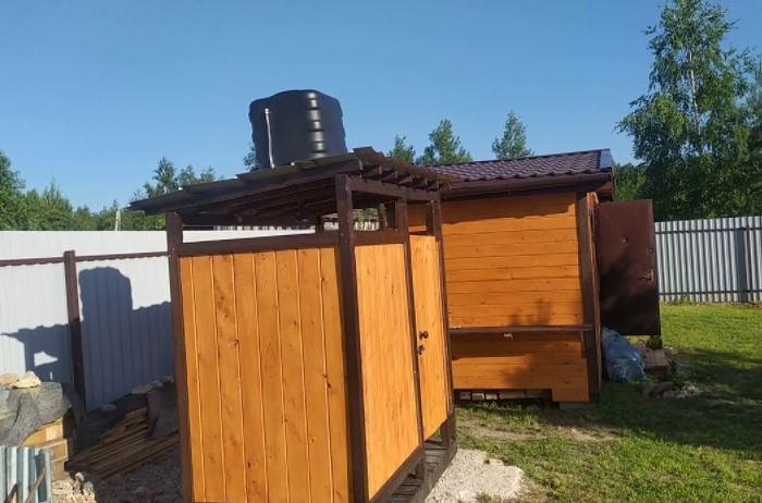 Вода подходит для уличного душа или бани, где можно слегка ополоснуться в знойный день / Фото: i.ytimg.com