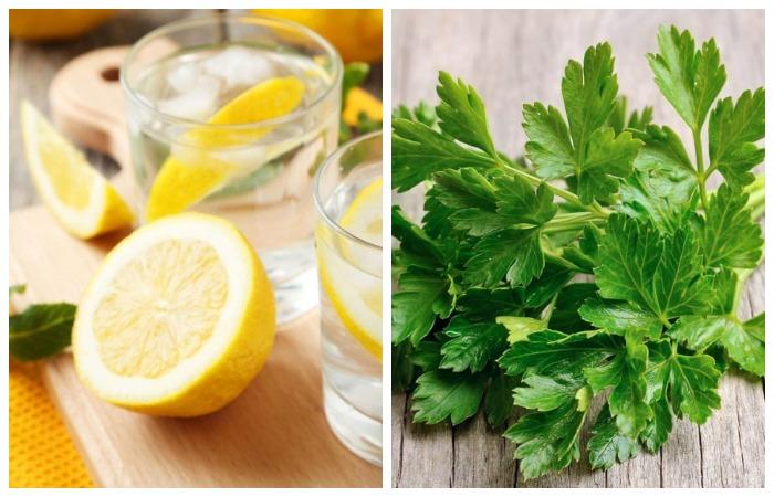 Приложите к укусу лимонный компресс или свежие листья петрушки