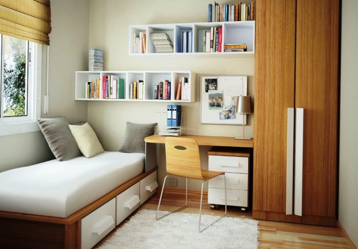 Если у вас маленькая квартира и вы хотите сэкономить место, не стоит подбирать миниатюрную мебель / Фото: womanadvice.ru