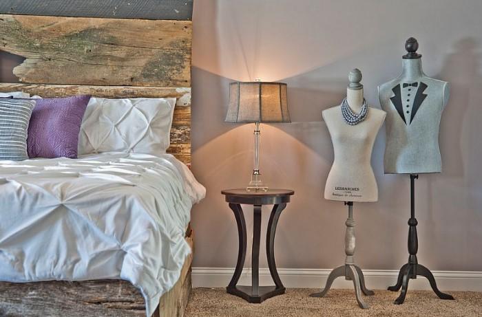 Манекен станет стильной изюминкой интерьера / Фото: interiorsroom.ru