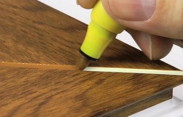 Маркер закрасит трещину без восстановления объема материала / Фото: maiyercraft.com