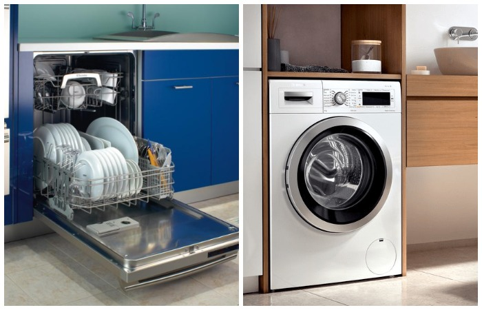 Посудомоечные и стиральные машинки часто выходят из строя из-за накипи