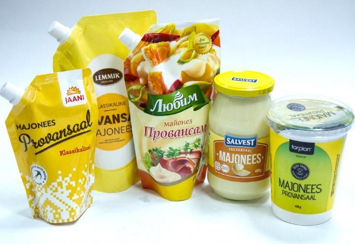 Майонез содержит те же вещества, что и растительное масло / Фото: mke.ee