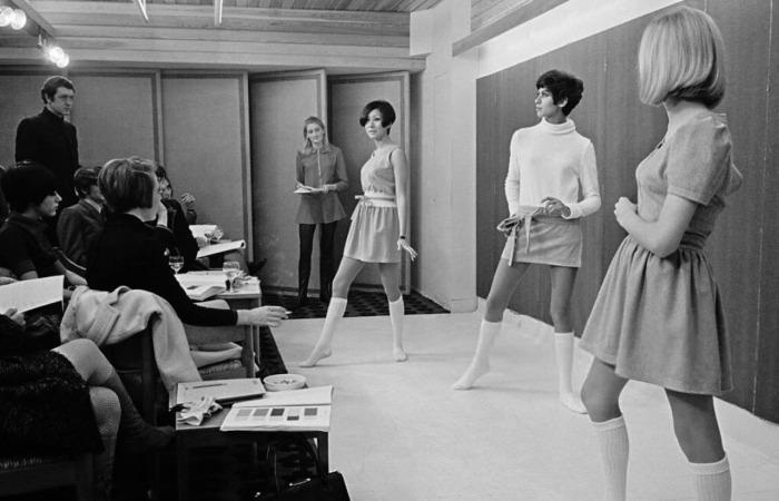 У Мэри Куант был магазин трендовых вещей в Лондоне, где в конце 50-х появились первые мини / Фото: 66.media.tumblr.com