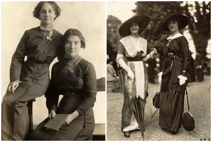 В начале ХХ века считалось, что женское тело нужно прикрывать от лодыжек до запястий