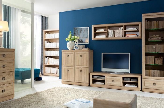 Передвигая модульную мебель, можно создать новый интерьер / Фото: stilmebel.com.ua