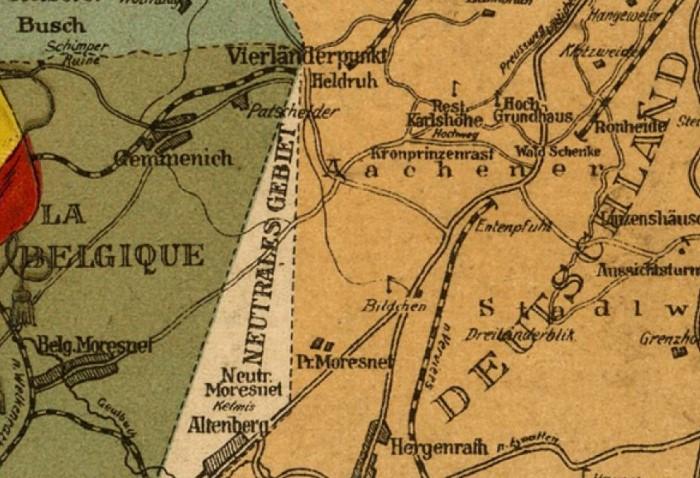 Государство располагалось на границе Германии, Бельгии и Нидерландов и просуществовало с 1816 по 1920 год / Фото: img.ilgcdn.com
