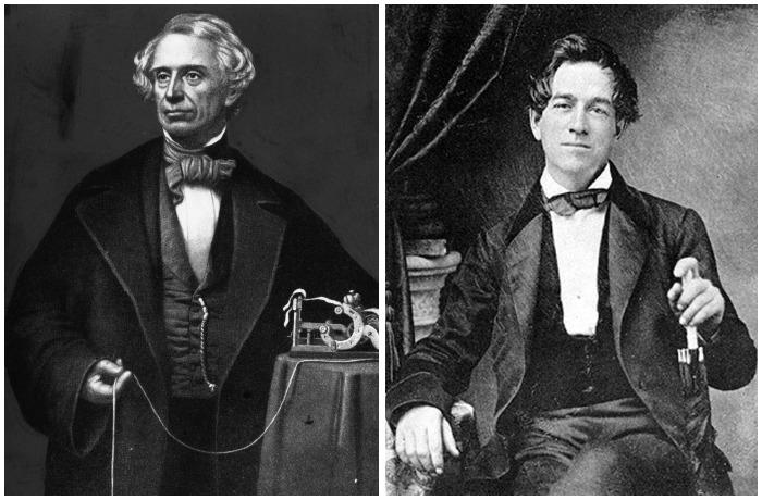 Морзе и Вейл вместе работали над телеграфом, а впоследствии именно Вейл создал известную азбуку Морзе