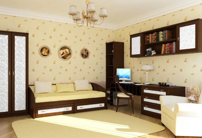 Комната с мебелью из одного комплекта выглядит скучной и стандартной / Фото: i5.photo.2gis.com