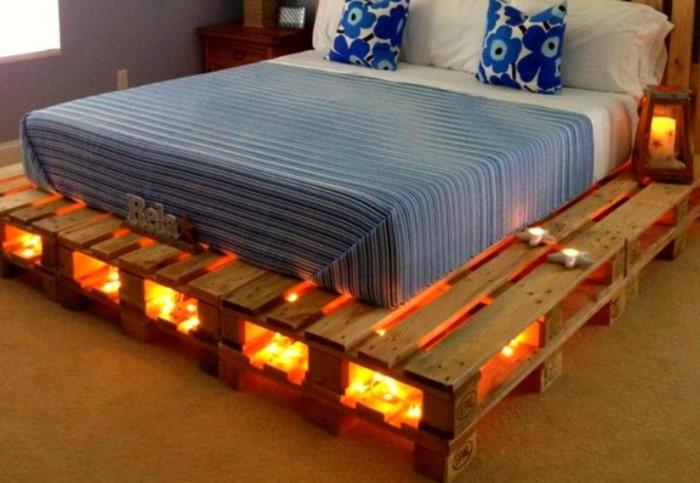 Другой вариант - сделать настил для дома, в качестве основы для кровати / Фото: stroy-podskazka.ru