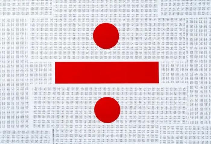 Обелюс встречается на раскладке калькулятора в значении деления / Фото: 1gai.ru