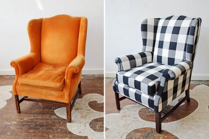 Новая ткань сразу же преобразит мебель и сделает ее более модной и дорогой