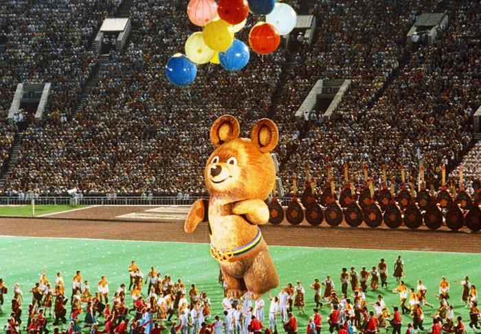 Мишка - легендарный талисман XXII летних Олимпийских игр, проходивших в СССР в 1980 году / Фото: 1kommunist.ru