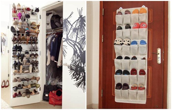 В таком органайзере удобно хранить домашнюю и спортивную обувь