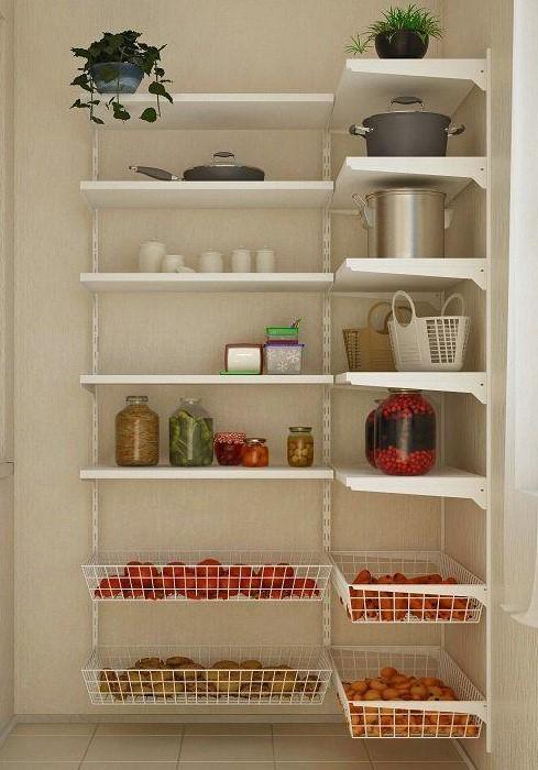 Для фруктов и овощей подойдут как открытые, так и закрытые контейнеры / Фото: elfatrade.ru