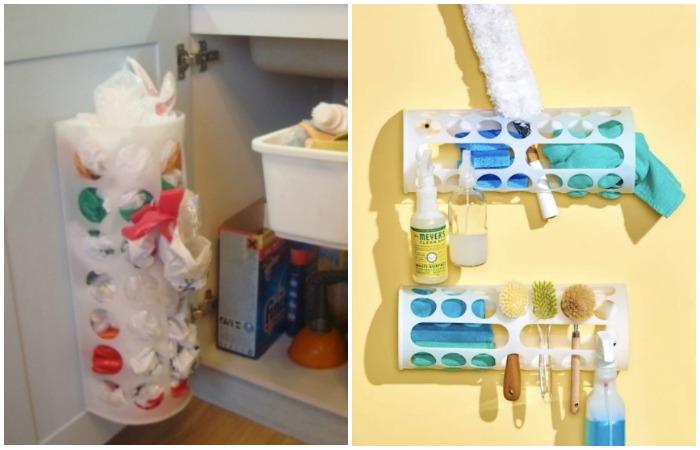 В контейнере можно хранить пакеты, бумажные салфетки, полотенца, перчатки, носки, личные вещи, средства гигиены и т.д.