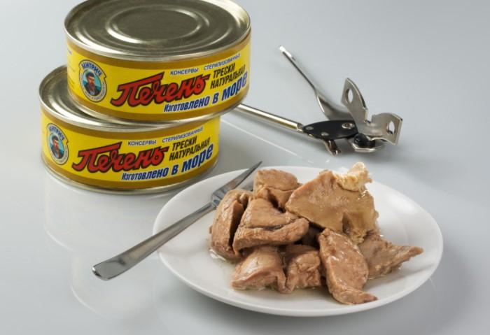 Консервированная печень трески -  отличный вариант для бутербродов и быстрых перекусов / Фото: бабушкинырецепты.рф