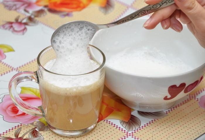 Пенка получится как из кофемашины / Фото: 3ladies.su