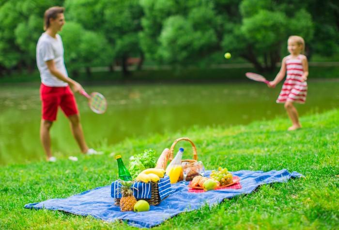 Пикник - хорошая возможность провести время с семьей или друзьями