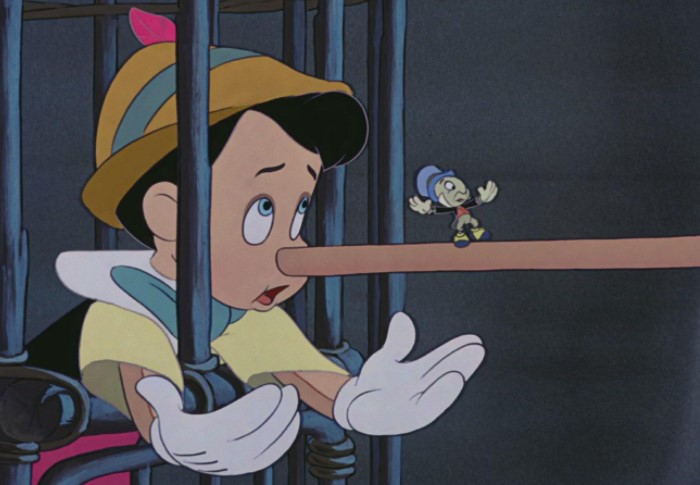 В жизни ложь не всегда очевидна настолько, как в случае с Пиноккио / Фото: blog.comfy.ua