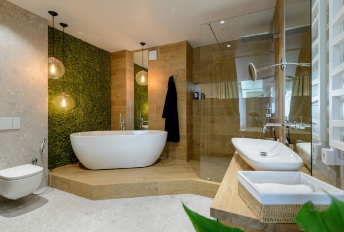 Оптимальный вариант для санузла или ванной комнаты, чтобы спрятать коммуникации / Фото: design-homes.ru