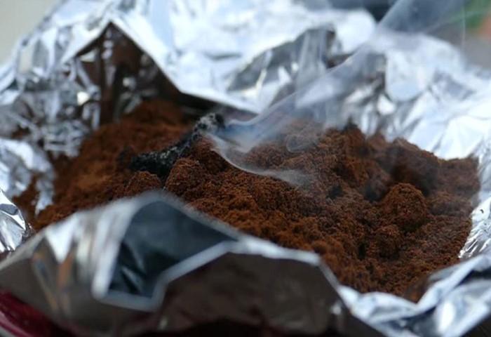 Зачем дачники поджигают кофе в фольге