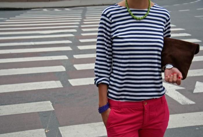 Во времена Средневековья одежду в полоску носили либо дамы низших сословий, либо женщины легкого поведения / Фото: images.shafastatic.net