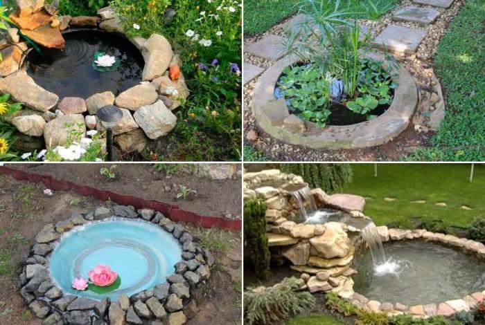 Домашний пруд украсит ваш сад  / Фото: landshaftdesign.org