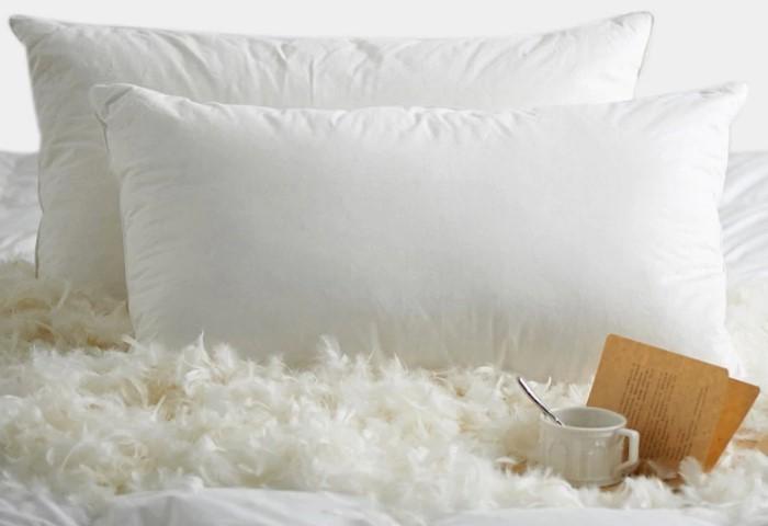 Пуховую подушку нужно стирать при 30 градусах и хорошо высушивать / Фото: ae01.alicdn.com
