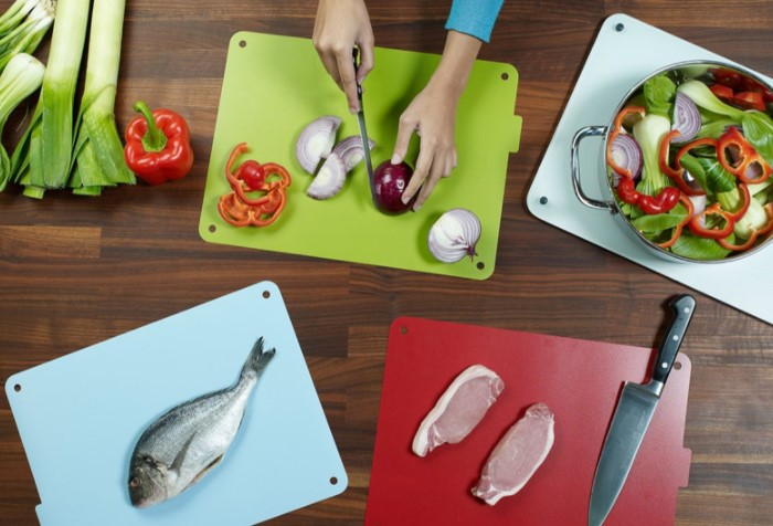 Профессиональные повара используют отдельные доски для разных продуктов / Фото: img.alicdn.com
