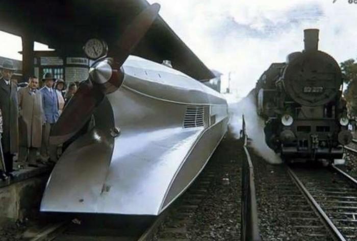 Рельсовый цеппелин, он же шиненцеппелин, представляет собой моторный самоходный железнодорожный вагон / Фото: n1s2.hsmedia.ru