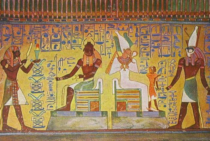 На древних рисунках египтян археологи насчитали 37 представителей фауны / Фото: ds04.infourok.ru