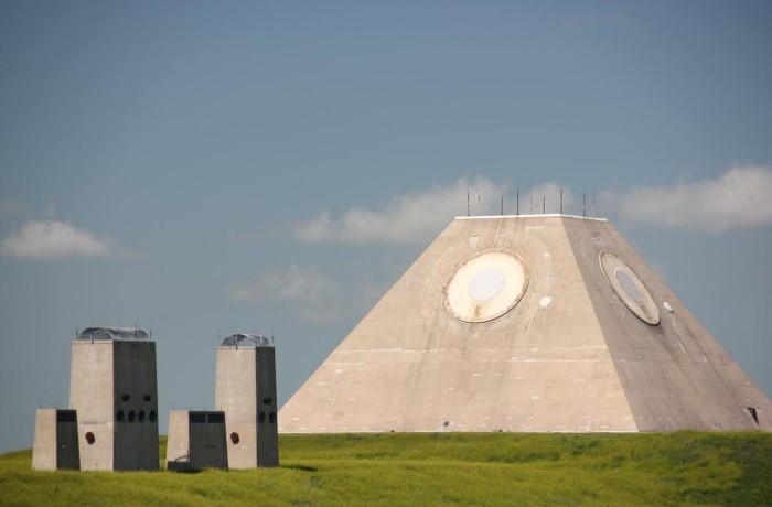 Военный комплекс для защиты позиций ядерного оружия на случай вражеского удара / Фото: reddit.com
