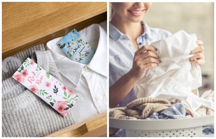 Ароматические саше и регулярная стирка избавят одежду от неприятного запаха