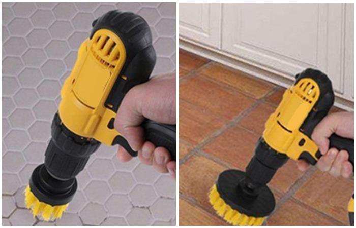 Насадки-щетки подойдут для очищения поверхностей и даже чистки унитаза