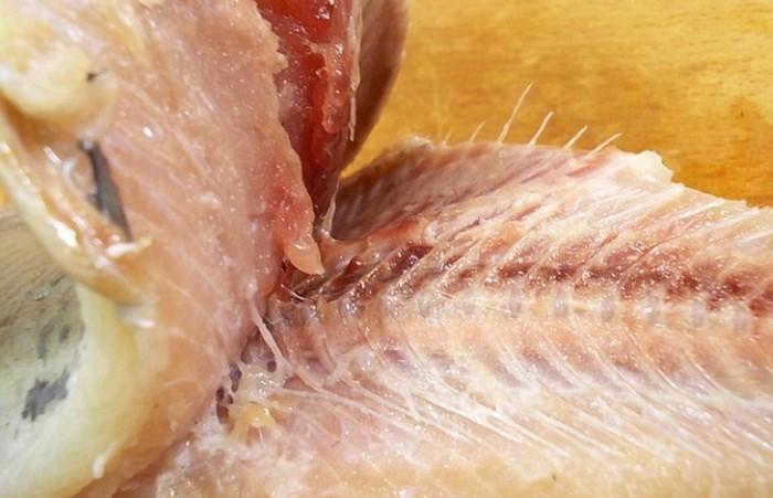 Если правильно отделить мясо от хребта, на нем почти не останется костей / Фото: sovetclub.ru