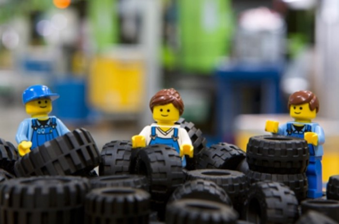LEGO - крупнейшая компания-изготовитель игрушечных шин / Фото: lego.com